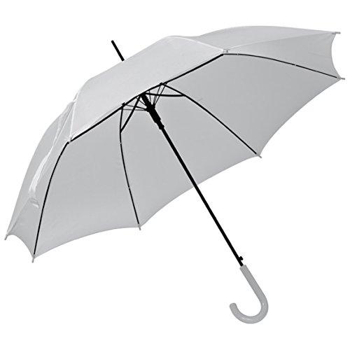 Automatikschirm - Regenschirm - Ø 100 cm (Weiss)