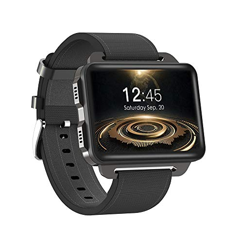 "Docoole SmartWatch,Orologio Fitness Tracker Touchscreen 2.2"",3G Sports Guarda GPS Quad core CPU 1GB + 16GB Wifi IPS Schermo Android 5.1 Pedometro Cardiofrequenzimetro Supporting Nano SIM Card"