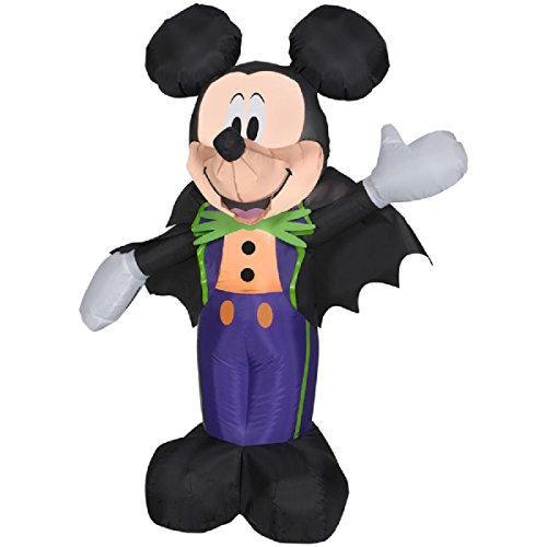 Halloween Inflatable Mickey Mouse Yard Decoration