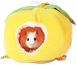 gutongyuan Hamster Bed, Sugar Glider Cage Accessories Hammock, Winter Warm Hamster House Toys for Small Animal Sugar Glide...