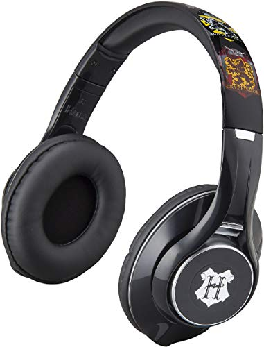 Harry Potter Bluetooth Headphones for Kids and Adults, Wireless Headphones with Microphone for Video Call or Zoom Meeting, Designed for Fans of Harry Potter Merchandise