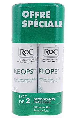 RoC Keops Fresh Spray Deodorant 2 x 100ml
