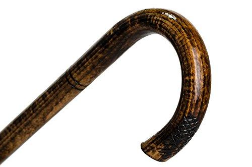"""Impresionante """"Curva"""" curtida madera caminando palo / bastón / malhechores mano a mano!"""