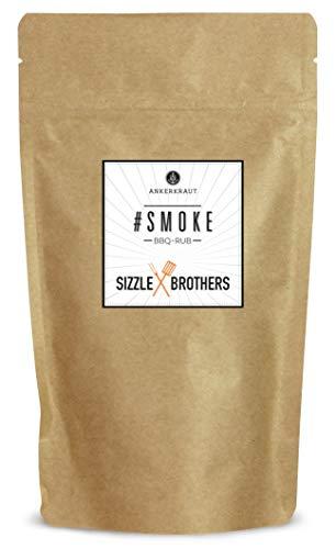 Ankerkraut #Smoke, BBQ Rub Gewürzmischung der Sizzle Brothers für Fisch, Geflügel, Schwein und Rind, 250g im aromadichten Beutel
