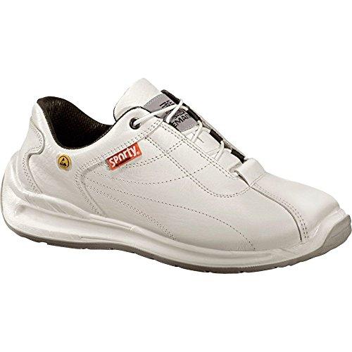 Lemaitre Unisex-Erwachsene Whitesporty Sicherheitsschuhe, Weiß (Weiß), 41 EU