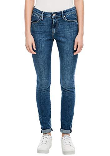 s.Oliver Damen Skinny Jeans, Light Blue Stretch, 44W / 30L