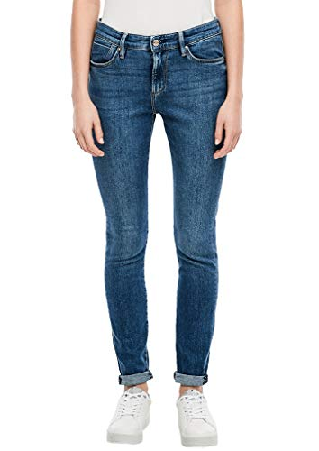 s.Oliver Damen 04.899.71.4713 Skinny Jeans, Light Blue Stretch, 34W / 30L