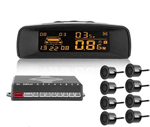YONGYAO A10 Universal Visible Distancia Digital Completa Pantalla Radar de Marcha Atrás LCD Coche Estacionamiento Sensor Monitor