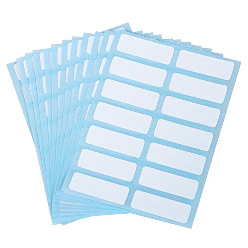 Skydue File Folder Labels Filing Envelopes Accessories Bottle Cup Sticker Marker,0.5 x 1.5 inches,Pack of 168