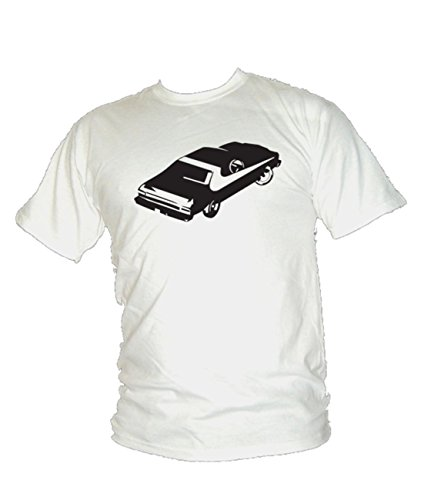 Ford Torino – Starsky et Hutch Classic Muscle Car T-Shirt pour Homme - Blanc - XL