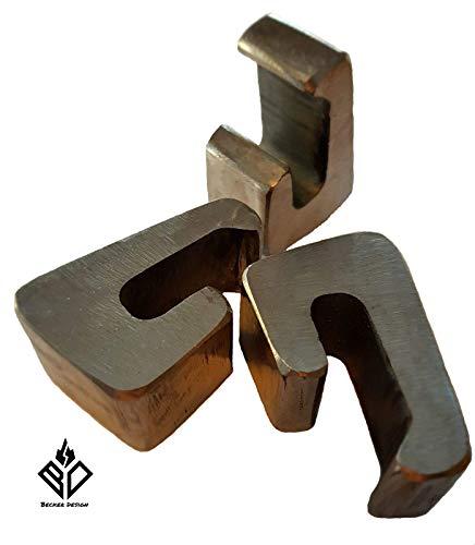 Becker Design Universal Abstandshalter für Feuerplatte zwischen Feuertonne/Kugelgrill und Feuerplatte (3 Stück)