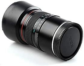 Lightdow 85mm F1.8 Medium Telephoto Manual Focus Full Frame Portrait Lens for Sony Alpha A9 A7R A7S A7 A6500 A6400 A6300 A6000 A5100 A5000 NEX-7 NEX-6 NEX-5T NEX-5R etc