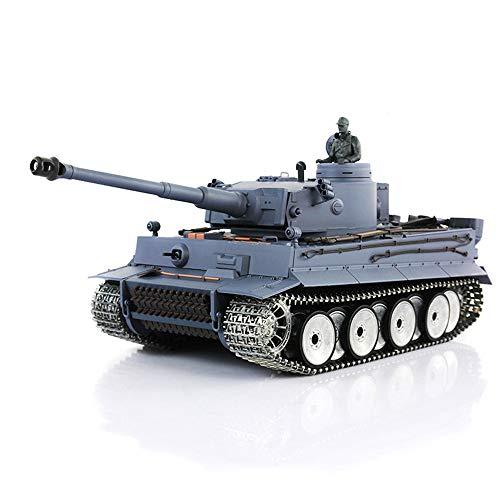 Heng Long 1/16 Tiger I RTR RC Tank 3818 W/ Barrel Recoil Metal Tracks Wheels