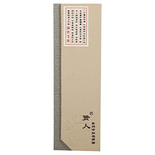 Zerodis 180 unids/Pack Incienso de Sándalo Natural Aroma Budista Incienso No Tóxico para el Hogar SPA Baño Oficina(Wormwood Incense)