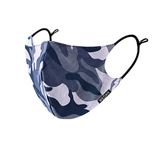 Auifor Reutilizables y lavables,  accesorios deportivos con estampado de camuflaje,  correas elásticas para los oídos,  enviar en españa