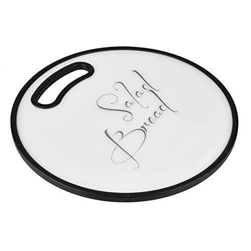 Tabla De Cortar De Plástico Redonda, Bloques De Cortar Duraderos Con Orificio Para Colgar Para El Hogar, Cocina, Restaurante, Panadería, Restaurante De Sushi