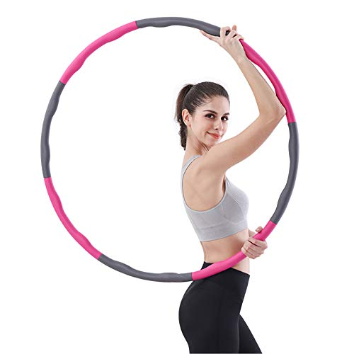 Hula Hoop,Weighted Hula Hoop for Adults,Fitness Exercise Weighted Hoops...