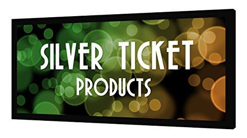 STR-235115 Silver Ticket 2.35:1 4K Ultra HD Ready Cinema Format (6 Piece Fixed Frame) Projector Screen (2.35:1, 115