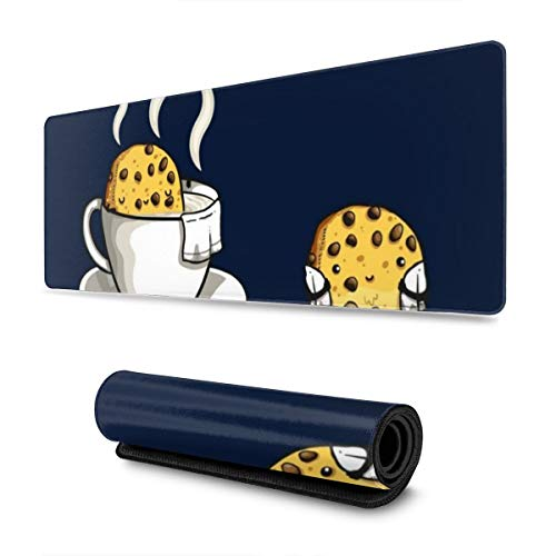 """Extra Large Mouse Pad -Cookie Jacuzzi Desk Mousepad - 31.5"""""""""""""""" X 11.8""""""""""""""""x0.12''(3mm Thick)- XL Protective Keyboard Desk Mouse Mat for Computer/Laptop -  Tianmeijia, shubiaodian-111509112-1"""
