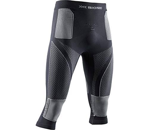 X-BIONIC Energy Accumulator 4.0 Pantalon 3/4 pour Homme XL Charbon/Gris Perle