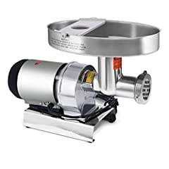 Permanently lubricated, 1 HP / 750 watt air cooled motor (120 volt, 60 Hz) runs smooth for a lifetime of use Offset head design (patent pending) promotes high speeds Precision engineered steel gears for quiet performance & rugged durability Five Year...