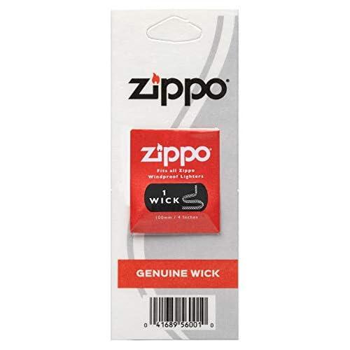 Zippo - Wick stoppino corda originale di ricambio - Singolo in blister - Made in USA
