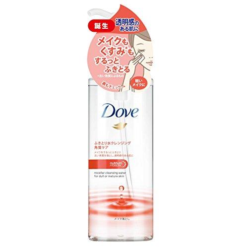 Dove ダヴ ふき取り 水クレンジング 角質ケア (くすみが気になる方に) 235ml