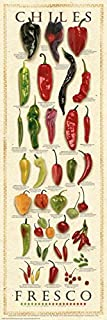 Chiles Fresco by Ziegler & Keating Kitchen Cooking Print Poster 12x36