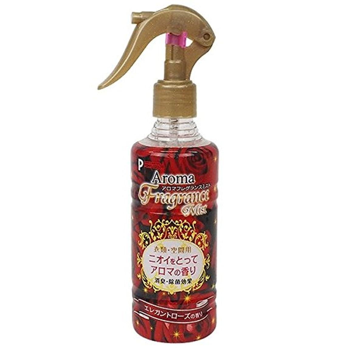 効果深さ好意的消臭スプレー アロマフレグランスミスト エレガントローズの香り 250ml