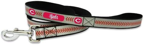 MLB Cincinnati Reds Baseball Max 45% OFF Small Pet Reflective Leash Max 84% OFF