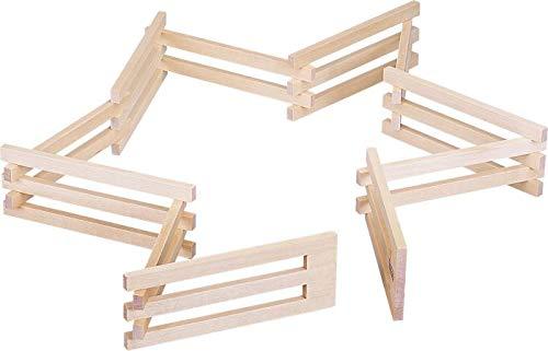 VEDES Großhandel GmbH - Ware SpielMaus Holz Zaun, faltbar