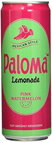 PALOMA Watermelon Lemonade mit Kohlensäure, 12er Pack, EINWEG (12 x 355 ml)
