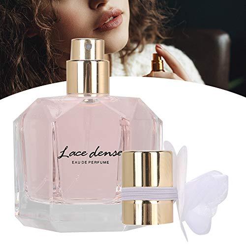 Eau de Parfum 50ml Damenparfüm, Blumenduft Damenparfüm Langlebiges, erfrischendes Damenparfüm (Pink)
