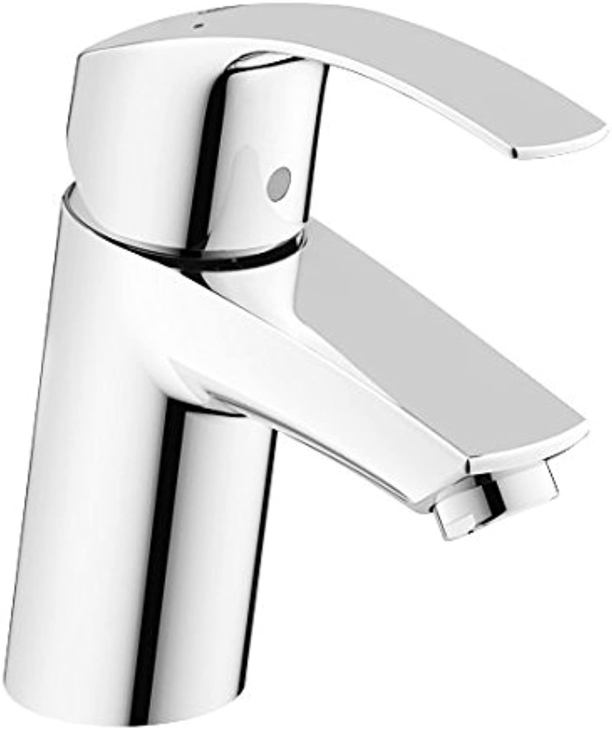 Grohe 32467002 Eurosmart New Single-Lever Basin Mixer Tap without Pop-Up Waste