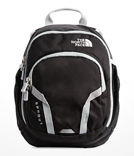 The North Face Youth Sprout Backpack - TNF Black & High Rise Grey - OS