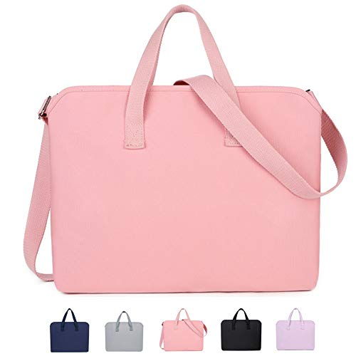 KUSDET 13 14 15.6 Inch Laptop Sleeve Bag Computer Carrying Case pink Size: 14 inch