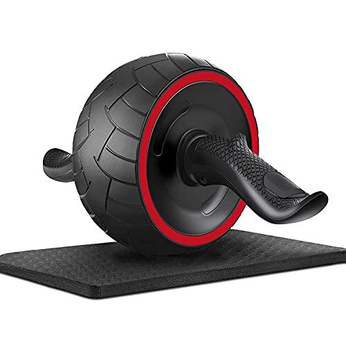 TOP-ARS® Bauchtrainer AB Roller , bauchroller - bauchtrainer roller - bauchmuskeltrainer für zuhause klein und praktisch für Männer und Frauen inkl. Kniematte ab wheel