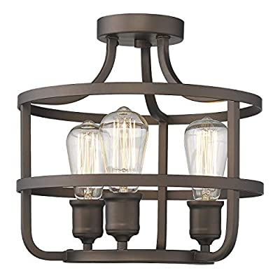 Zeyu Industrial Farmhouse Kitchen Pendant Light Chandelier for Dining Room