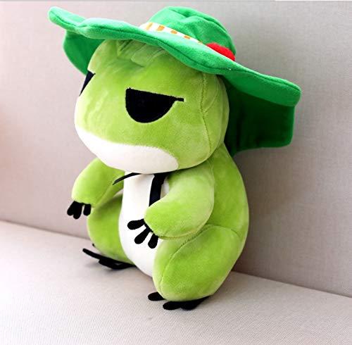 LAARNT 20 cm Plüsch Frosch Spielzeug, Frosch Puppe, PP Baumwollpolsterung, weich und bequem für Kinder