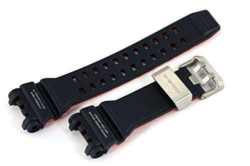 Casio 10493098 - Correa de repuesto para reloj de resina y fibra de carbono, compatible con GPW-1000-2A
