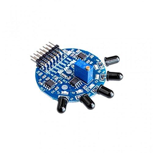 Digital Flame Flames Fire Flama 5Channel IR Flame Sensor Module for Arduino