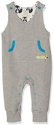 loud + proud loud + proud Baby-Unisex Uni Strampler, Grau (Grey Gr), 56