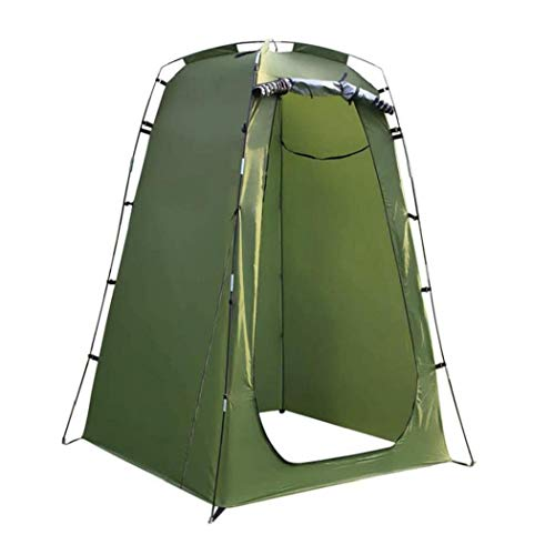 Shower Tent, Portable Privacy Pop Up Shower Privacy Tent Rain Shelter Removable Dressing Changing Room Camp Toilet Changing Room ArmyGreen
