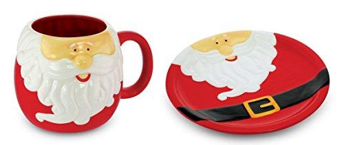 KOVOT Santa's Mug And Plate Set