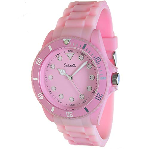 Select Lw-20-18 Reloj Analogico para Chica Caja De Resina Esfera Color Rosa