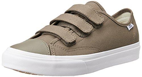 Vans Men's Style 23 V Canvas Walnut/True White Ankle-High Skateboarding Shoe - 13M