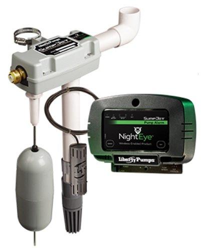 Liberty Pumps SJ10A-EYE StormCell 442-Series SumpJet Water Powered Back-Up Sump Pump with NightEye Wireless Alarm