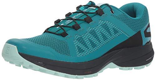 Salomon Women's XA Elevate Trail Running Shoes, Deep Lake/Black/Eggshell Blue, 6
