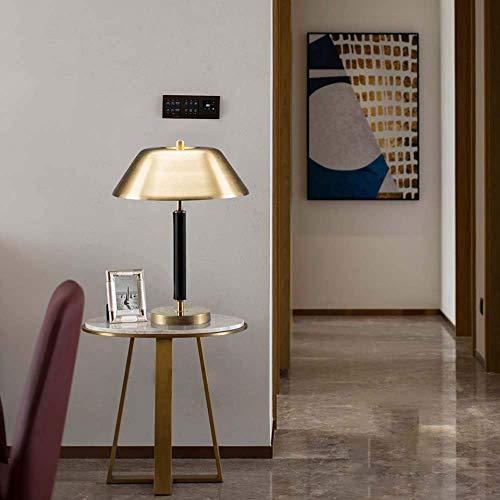 YANQING duurzame Scandinavische metalen tafellamp licht woonkamer Den slaapkamer villa westerse stijl tafellamp 35x56cm oplichting leven