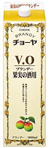 チョーヤ梅酒『ブランデーV.O』